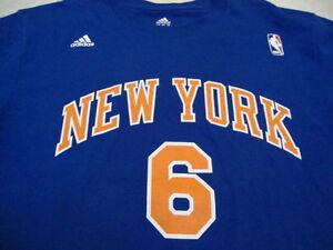 NBA New York Knicks Tyson Chandler Adidas T Shirt XL
