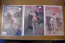 3 SILENT HILL Comics: Among the Damned & Dying Inside by IDW & Konami