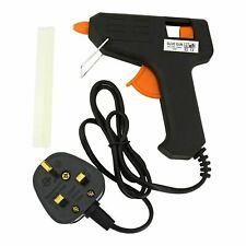 More details for hot melt electric glue gun trigger diy adhesive hobby crafts free glue sticks uk