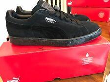New Puma Suede Classic+ Black/Dark Shadow Men's 8.5 $60