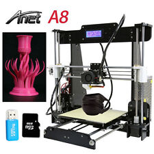 2017 Anet A8 FDM 3D Printer Precision Reprap Prusa i3 DIY & LCD USA STOCK, BEST!