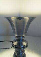 Lampe, veilleuse, métal Vasque chromée  Art Déco Moderniste Era Adnet Petitot
