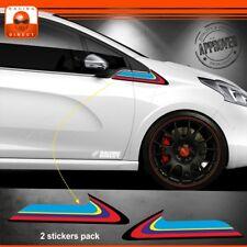 100Y autocollant PEUGEOT 208 Rallye sticker decal aufkleber pegatina adesivo gti