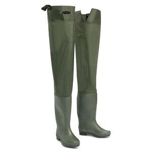 Dirt Boot® Nylon Thigh Hip Waders 100% Waterproof Fly Coarse Fishing Muck Wader
