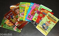 GARBAGE PAIL KIDS ANS 1-7 + FLASHBACK 1 2 3 EMPTY WRAPPERS LOT OF 10 2003-2011