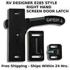 RV- Screen Door Latch Right Hand Handle E285 - Camper Motorhome Travel Trailer