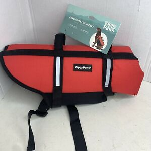 Zippy Paws - Adventure Life Jacket for Dogs - Small- Red - Life Jacket - New