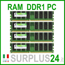 CORSAIR VALEUR SELECT RAM 4 GO (4x 1GO) PC3200U DDR1 400Mhz 184pin x Bureau