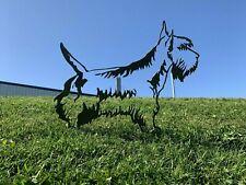More details for scottish terrier dog rusty metal garden art