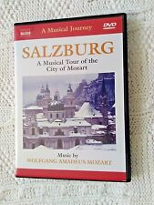 SELZBURG - A MUSICAL TOUR OF THE CITY OF MOZART - DVD, R-ALL,LIKE NEW, FREE POST