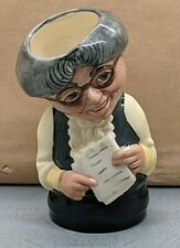 More details for lovely royal doulton doultonville miss studious character jug d6722 su172