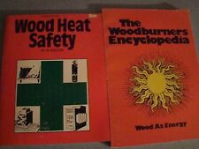 LOT ON WOOD HEAT ENERGY SAFETY WOODBURNERS ENCYCLOPEDIA SOLID FUELS WOOD STOVE