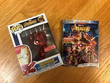 Marvel Avengers: Infinity War Bundle (Blu-Ray + Funko) (Target Exclusive), new