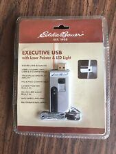 EDDIE BAUER EXECUTIVE USB WITH LASER POINTER AND LED LIGHT