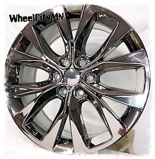 20 inch chrome PVD Ford F150 OE 10003 replica wheels fits Expedition 6x135 +44