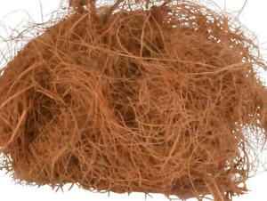 Vogel Nistmaterial-zu 100 % aus Kokosfasern für  Kanarien Zebrafinken-&&&- 50 g