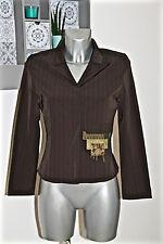 jolie veste stretch chocolat/kaki BLEU BLANC ROUGE taille 38 fr 42i  COMME NEUVE