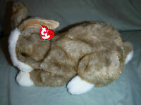 "Ty Classic Thimbles Bunny Rabbit 13"" Plush Soft Toy Stuffed Animal"