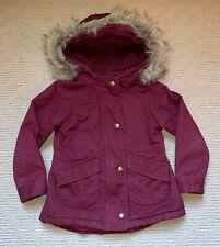 Old Navy Toddler Girl Purple Maroon Warm Coat Jacket Size 5T