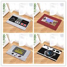 Retro Entrance Mat Waterproof Doormat Game Play Camera Printed Carpets Home