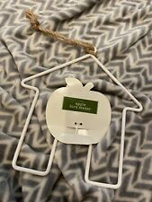 New With Tags Apple Bird Feeder House Hanging