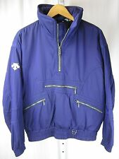 Vintage DESCENTE SKI Snowboard JACKET Winter Purple Coat Mens Small