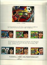 Soccer, Football Collection Lindner Hingless Album, 40 Pages, Mint NH 1982 (B)