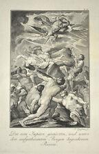 1791 Ovid Metamorphosen Kampf der Titanen Titanomachie War of the Titans