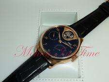 IWC Portuguese Rose Gold Tourbillon Mystere Black Dial Limited 500 Pcs IW504210