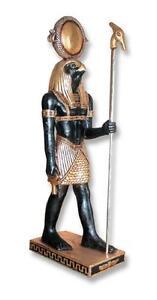 Horus 3ft Ancient Egyptian Statue Egyptian art