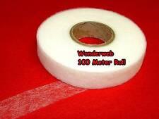 100 Meters Wundaweb Wonderweb No Sew Easy Hemming Tape