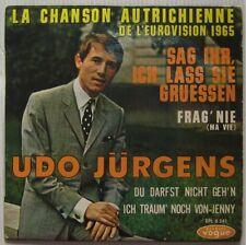 Udo Jürgens 45 Tours Eurovision 1965