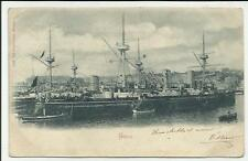 antica cartolina di regia  nave etna  spedita nel 1900