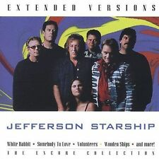 JEFFERSON STARSHIP - EXTENDED VERSIONS - NEW CD
