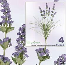 """FOUR 21/""""  Lavender Silk Flower Artificial Plants 250PU"""