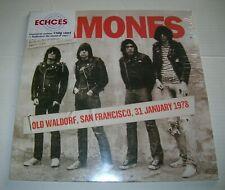 Ramones Old Waldorf San Francisco 1978 Rare Vinyl LP