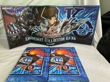Yu-Gi-Oh Yugioh Official Game Board Play Mat Legendary Collection Kaiba X3 Used