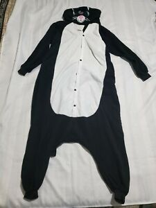 NEWCOSPLAY Unisex Adult Cat One- Piece Cosplay Animal Pajamas Halloween Cost C11