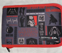 Nintendo 3DS Carrying Case Star Wars Come To The Dark Side Red