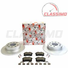 Ferodo Rear Brake Discs & Pads for AUDI A3 8P - 1.2 1.4 1.6 1.8 1.9TDi 2.0TDi