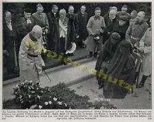 Funérailles Graf Zeppelin cimetière pragfriedhof à Stuttgart famille Adel ROI WILHELM 1917