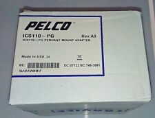 Pelco ICS110-PG Pendant Mount Adapter **NEW** Sealed in Box