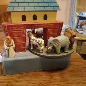 Wooden Musical Noah's Ark