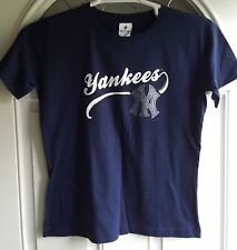 NY Yankees Ladies Tee Set of 2 Size M by Soft As A Grape