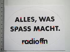 Aufkleber Sticker Radio ffn (7692)