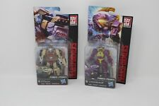 Lot of 2 Transformers Power of the Primes Cindersaur and Outback Hasbro New Toys