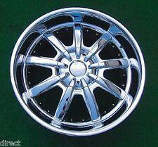 1 Vogue GTV GT-V 22 inch Chrome 9 Spoke WHEEL MHT Cadillac Escalade Tahoe Yukon