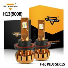 AUXBEAM H13 LED Headlight Bulb for Ford F-150 04-14 F-250 F-350 Super Duty 05-18