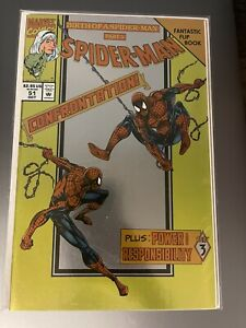 BIRTH OF A SPIDER-MAN 51 Part 3 CONFRONTATION Foil Cover 1994 Sealed NEW