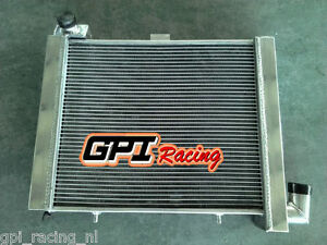 3 core FOR CORVETTE C2 C3 5.3 5.4 5.7 6.5 7.0 7.4 V8 63-72 aluminum radiator